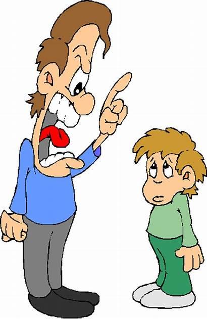 Yelling Conversation Parent Scolding Embrace