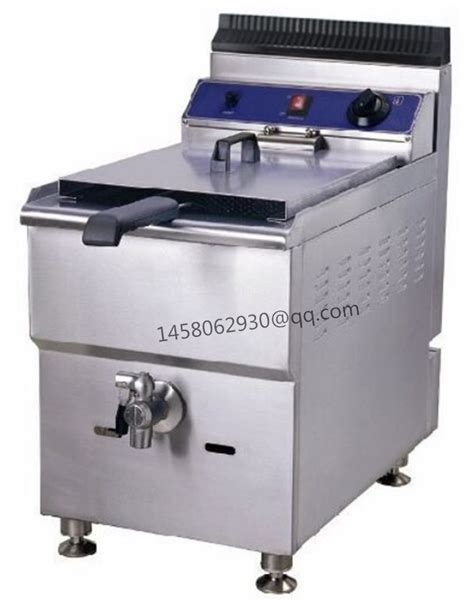 fryer deep gas commercial frying table machine counter fish fat kitchen electric basket equipment chicken chips kfc natural single capacity