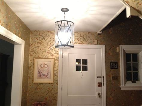 Small Entryway Lighting Ideas - exquisite ceiling hanging lights with shade as modern