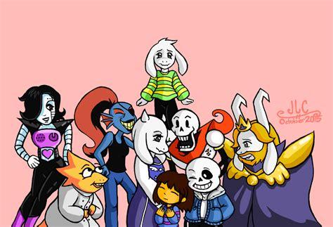 Undertale персонажи