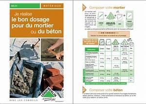 Dosage Pour 1m3 De Béton : b timent travaux publics le dosage du mortier et du b ton ~ Premium-room.com Idées de Décoration
