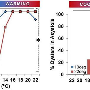 Hr Diagram In Celsiu by Effect Of Temperature Cooling Vs Warming On Rate