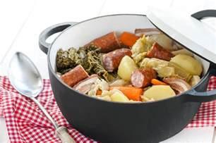 la potee au chou instant gourmand la pot 233 e au chou restauration collective la culinaire