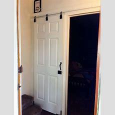 Diy Sliding Doorcheapo Style That I Did Using $6
