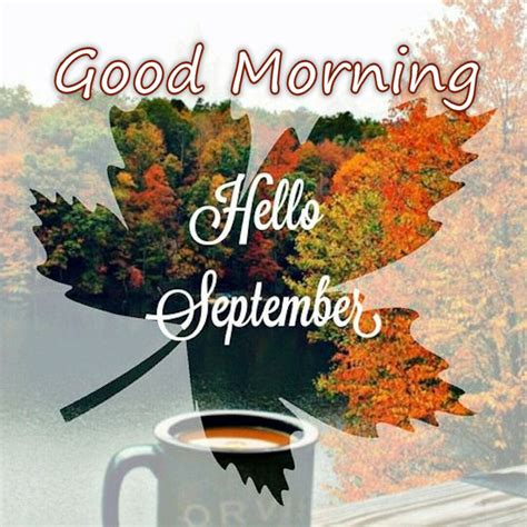Autumn Good Morning Hello September Pictures, Photos, and Images for Facebook, Tumblr, Pinterest ...