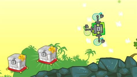 bad piggies robot pig spinning   marble crate