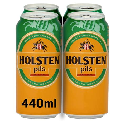 Morrisons: Holsten Pils Lager Cans 4 x 440ml(Product ...