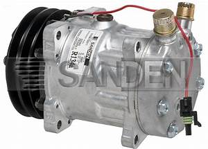 New Original Sanden Compressor 4664  1101233