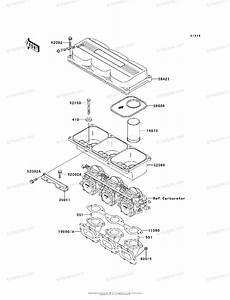 Kawasaki Jet Ski 1995 Oem Parts Diagram For Flame Arrester