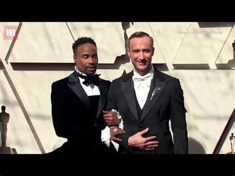 Billy Porter Llego Los Oscares Vestido Negro