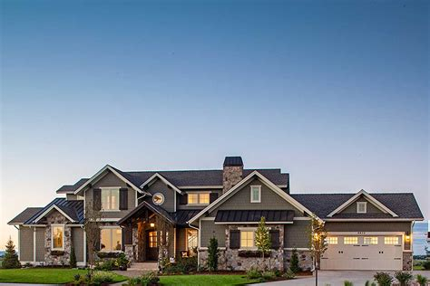 traditional house plan  craftsman touches rw architectural designs house plans