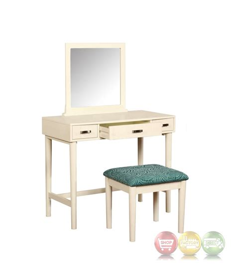 White Bedroom Vanity Set by Garbo Simple White Bedroom Vanity Set With Bench