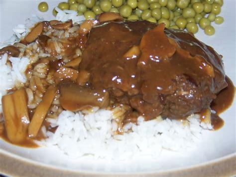 brown gravy stefanies cooking spot hamburger steaks with brown gravy