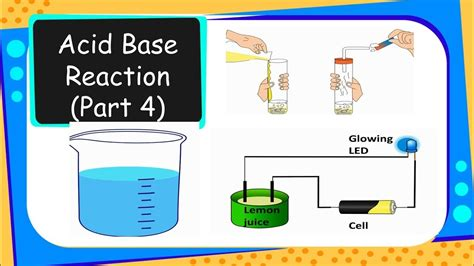 Chemistry  Acid Or Base In Water Solution  Acids, Bases And Salts  Part 4  English Youtube