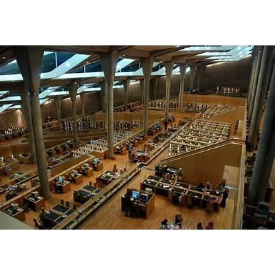 Bibliotheca Alexandrina l Snøhetta - Arch2O.com