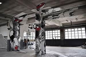 Medusa Inside an Old Factory | Art