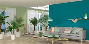 Mur Bleu Pétrole : peinture bleu 12 couleurs bleut es pour repeindre son int rieur c t maison ~ Melissatoandfro.com Idées de Décoration