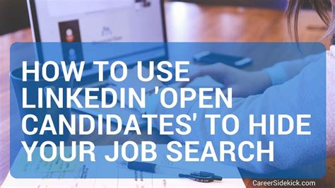 how to turn on and use linkedin quot open candidates quot plus