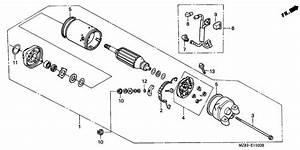 Starting Motor For 1997 Nv400cv