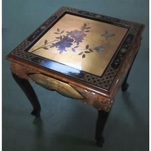Table Basse Chinoise : table basse chinoise laque d 39 or promodiscountmeubles ~ Melissatoandfro.com Idées de Décoration