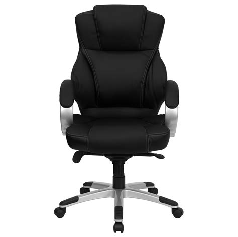 high back black leather contemporary office chair h 9626l 2 gg