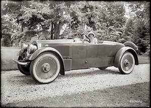 1920's Packard Twin Six Roadster (with actress Grace ...