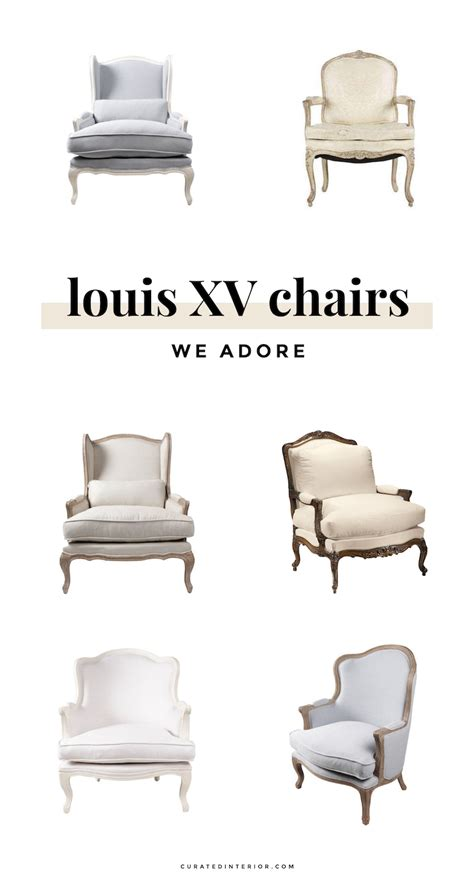 3 Louis Chair Styles & How to Spot the Differences