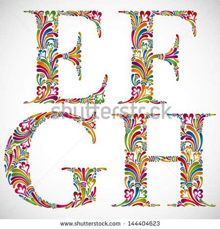 floral font letter h stock photos floral font letter h royalty free stock photos and images colorful floral font 60525