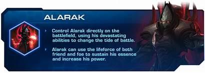 Alarak Starcraft Commander Protoss Battle Sc2 Ii
