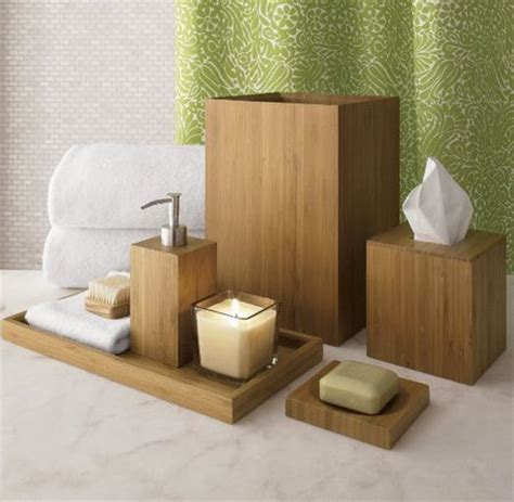 Themed Bathroom Items by Best 25 Wooden Bathroom Accessories Ideas On