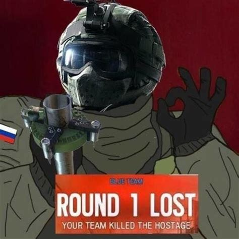 Rainbow Six Siege Memes - when the hostage is killed just right rainbow six siege know your meme