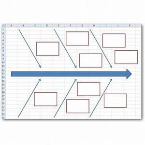 how to create a fishbone diagram in microsoft excel 2007 With fishbone diagram template xls