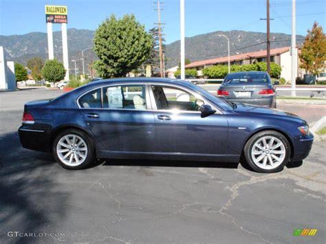 2007 Toledo Blue Metallic Bmw 7 Series 750li Sedan