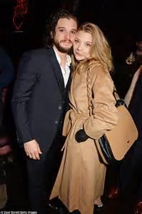 Natalie Dormer Married by Kit Harington Celebrates With Leslie After
