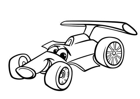 Kleurplaat Raceauto by Kleurplaat Raceauto Kleurplaten