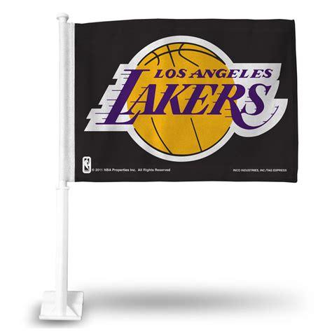 Los Angeles Lakers Car Flag