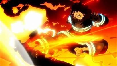 Force Fire Anime Shouboutai Enen Season Episodes