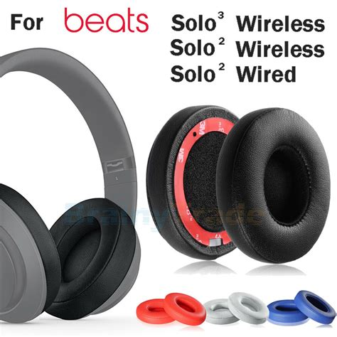 replacement ear pads cushion  beats  dr dre solo