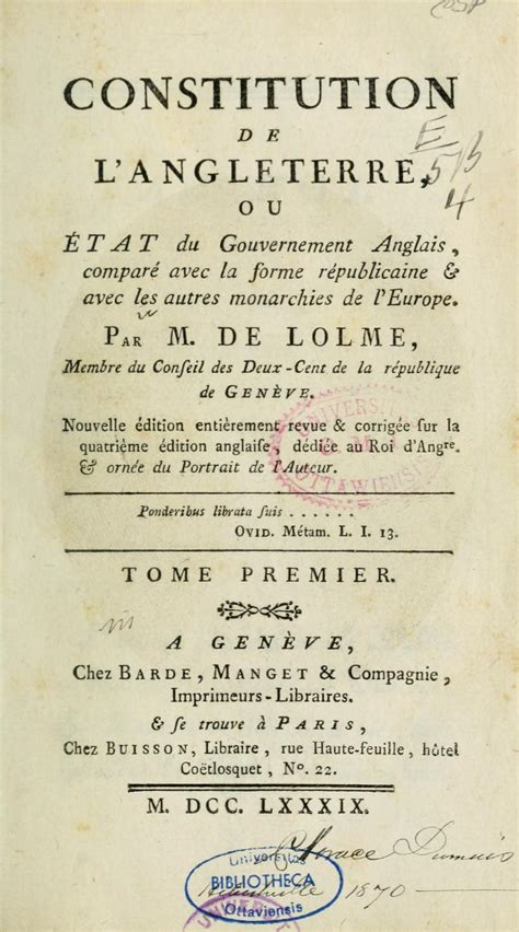File:Title page of Constitution de l'Angleterre (1789).jpg ...