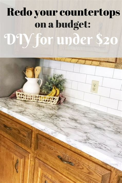 How To Redo Countertops Without Replacing by 1 Way To Update Countertops Without Replacing Them Diy