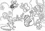 Coloring Pages Insects Insect Printable Bug Realistic Bugs Getcolorings Adult Books Getdrawings sketch template
