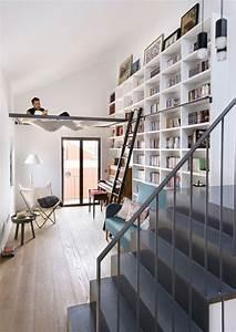 Grande Bibliothèque Murale : 10 id es d co pour am nager une biblioth que murale ~ Teatrodelosmanantiales.com Idées de Décoration