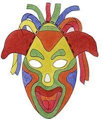 mask kvpac colorful paper masks multicultural 586 | d649dcc78a6d514ec4b98a4fb9d8a36a