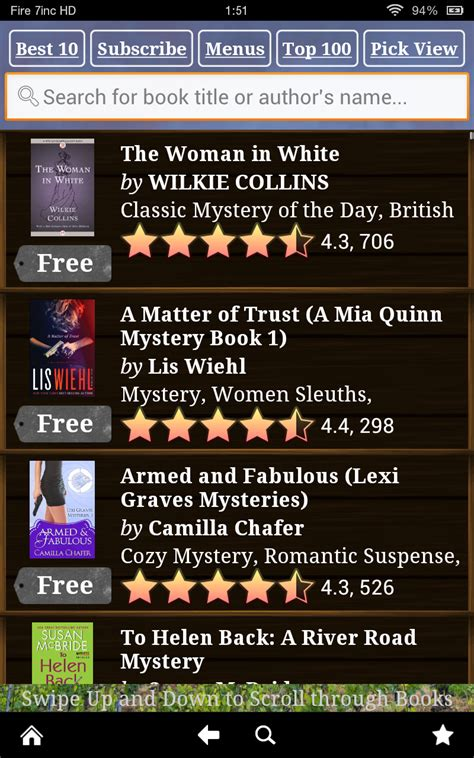 mystery books  kindle  mystery books