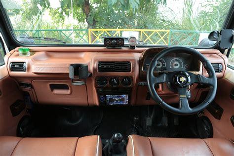 mahindra thar 2017 interior mahindra thar hipster azad interior indian autos blog
