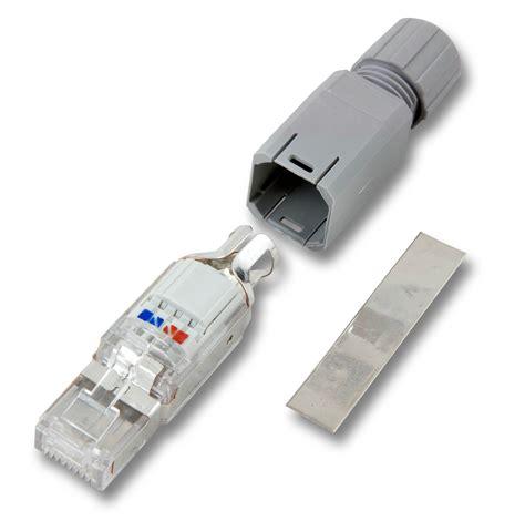 rj45 stecker verlegekabel fm45 rj45 stecker verlegekabel patchkabel baustelle feldkonfektionierbar ip20 ebay