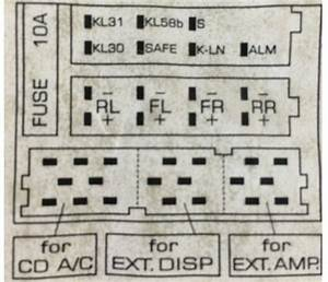 1998 Vw Beetle Audio Wiring Radio Diagram Schematic Colors