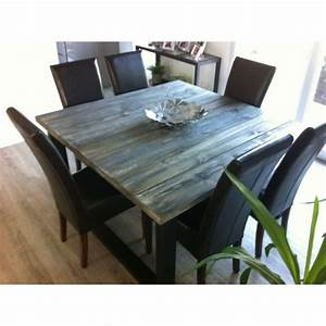 table de salle a manger style industriel With table de salle a manger style industriel