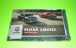 2019 Dodge Ram User Guide Owners Manual Set  Case 19 1500