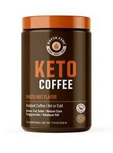 Each ingredient has been carefully selected and with you in mind. Rapid Fire Hazelnut Ketogenic Coffee, Supports, Metabolism, 7.93oz 15 Servings | eBay